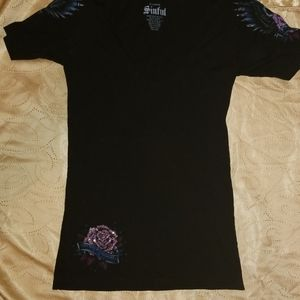 Women's Sinful T-Shirt XL